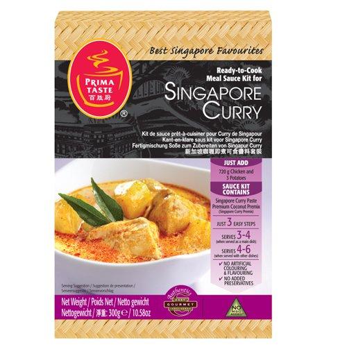Ready-to-Cook-Sauce-Kit für Singapur Curry Prima Sauce