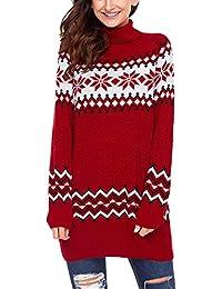 design senza tempo 3b403 7e957 Amazon.it: maglione norvegese - Donna: Abbigliamento