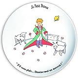 FRANCIA VINTAGE Plato de postre 20cm El Principito y la oveja 'Por favor ... ¡Tráiganme una oveja!'