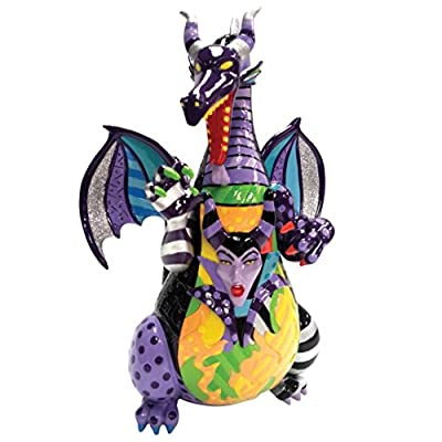 Enesco 4057163 MALEFIQUE DRAGON Figurine Polyester Multicolore 31,2 x 23 x 22 cm