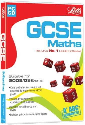 Letts GCSE Maths 2008/09 (PC) Test