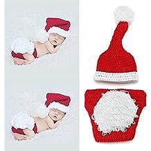 veewon recin nacido beb fotografa props ropa disfraz de ganchillo accesorios de fotos de beb navidad