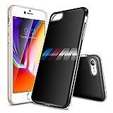 iPhone 7 Plus Coque,iPhone 8 Plus Coque,ZJXW Série Design clair pare-chocs brillant...