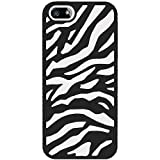 Best Amzer iPhone 5 Cases - Amzer AMZ95116 Silicone PolyCarbonate Dual Layer Zebra Hybrid Review