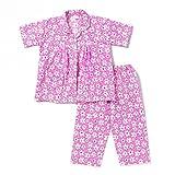 #10: Half Sleeves Night Suit Floral Print - Pink