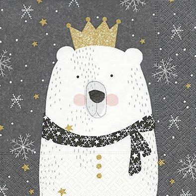 3 cm Weihnachten Polarbär Eisbär Kinder-Geburtstag Winter ()