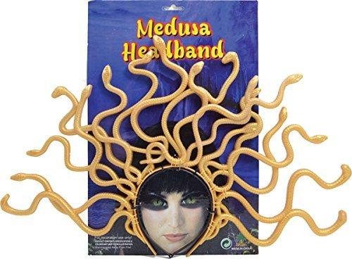 Grichischer Verkleidung Kostümparty Spaß Zubehör Goddess Medusa Stirnband Schlange - Medusa Göttin Kostüm