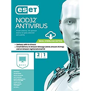 ESET NOD32 Antivirus – 2 Devices, 1 Year (Email Delivery in 2 Hours- No CD)