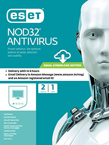 ESET NOD32 Antivirus - 2 Devices, 1 Year (Email Delivery...
