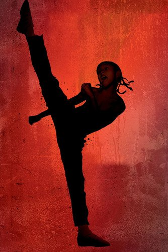 Moviestore Jaden Smith als Dre Parker in The Karate Kid 91x60cm Farb-Posterdruck (Jaden Film Kid Karate Smith)
