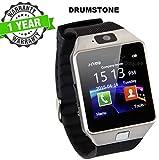 6b6ffb178011a8 Kingsford DZ09 Bluetooth SmartWatch with SIM/TF Card Slot, Camera,  Whatsapp, Facebook