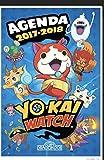 agenda scolaire 2017/2018 yo kai watch