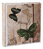 Romantic Side Fotoalbum 30x30 cm 100 Seiten für 600 Fotos Jumbo Album Buchalbum: Farbe: Grün