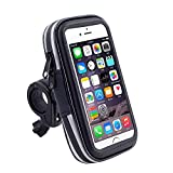 DFV mobile - Professional Reflective Support for Bicycle Handlebar And Rotatable Waterproof Motorcycle 360 º for => Motorola Moto E5 Supra (2018) > Black