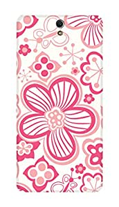 SWAG my CASE PRINTED BACK COVER FOR SONY XPERIA C5 Multicolor