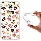 WoowCase - Funda Gel Flexible [ Huawei GX8 / G8 ] Donuts Carcasa Case Silicona TPU Suave
