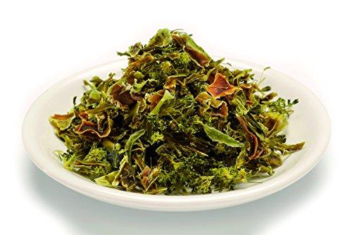 Bio rohe Brokkoli getrocknet 1kg Brokkoli Gemüse, Rohkost, Broccoli gelblich/grünlich/bräunlich 1000g