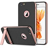 iPhone 6s Plus Funda, JETech Slim-Fit iPhone 6 Plus / 6s Plus Funda con Selfie Soporte para Apple iPhone 6 Plus 6s Plus 5.5 (Rosa) - 3391