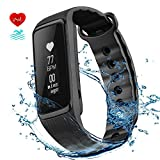 Fitness Tracker, OMorc Braccialetto Sport Activity Tracker IP68 Impermeabile Weloop Now2 Bluetooth...