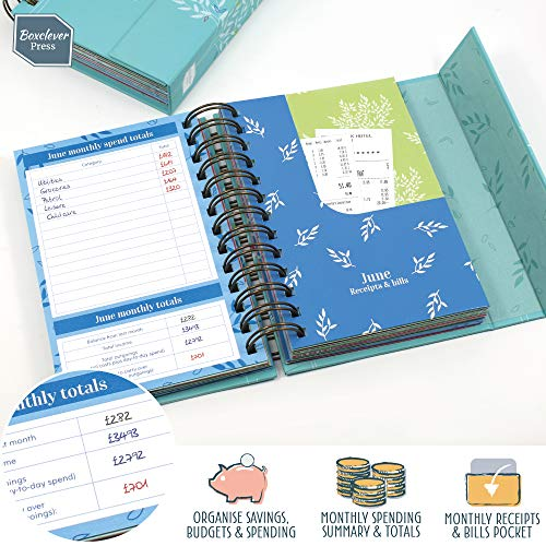 Zoom IMG-1 boxclever press budget book diario