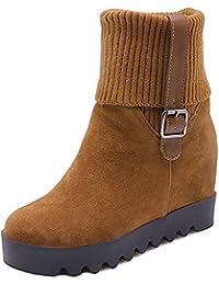 2af61a9b4b5 Amazon.es  cuña oculta - Botas   Zapatos para mujer  Zapatos y ...