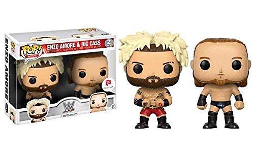 Funko 15072-WWE Wrestling Figur Pack Enzo Liebe and Big Cass (Wwe Figuren Big Pack)