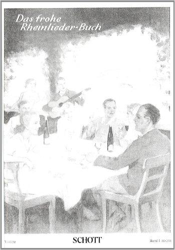 Das Frohe Rheinlieder-Buch Band 1 Violon