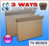 TV LCD Plasma Removal Cardboard Box (24 inch)