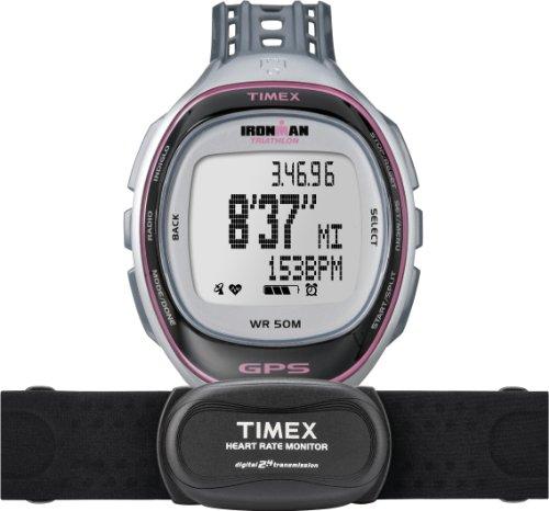 Timex Damen-Armbanduhr XL Ironman Rund Trainer Digital Quarz Plastik T5K630