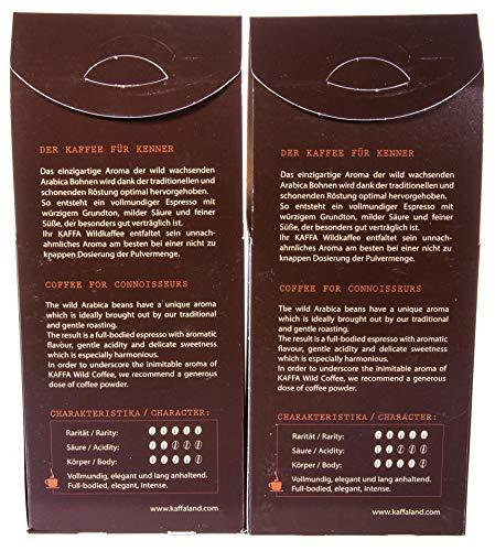 Original Food Kaffa Wildkaffee Espresso gemahlen 2er-Pack (2x 250g) bio - 4