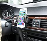IBRA® Dedicated Air Vent Car Holder Mount Black Vehicle Louvers Phone Cradle Mount