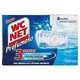 WC Net - 3Effect, Detergente per WC, Ocean Fresh - 6 pezzi da 136 g [816 g]