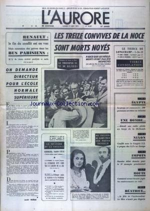 AURORE (L') [No 8307] du 17/05/1971