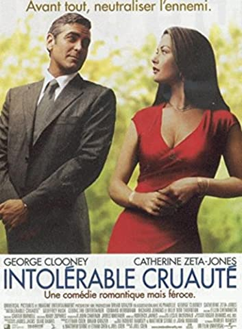 Intolérable Cruauté - George Clooney - 116X158Cm Affiche Cinema Originale