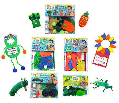 Mister Maker Bumper Pack of Craft Kits by Mister Maker - Kit Maker Pom-pom