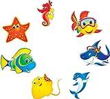 pool-design.eu Aufkleber Pool * Sticker Swimmingpool * Poolaufkleber Unterwasser * Deko Set Kiddi (20)