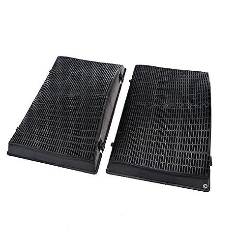 2 filtres de hotte FC19 - compatible hotpoint HES60 hes62f hes92f hes62fix/ha Wpro AMC962