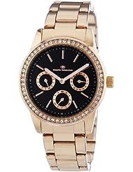 TOM TAILOR Damen-Armbanduhr Analog Quarz Edelstahl beschichtet 5411804