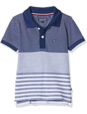 Tommy Hilfiger Structured Pique S/S, Polo para Niños