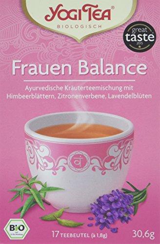 Yogi Tea Frauen Balance Bio, 3er Pack (3 x 31 g) - Zitronenverbene, Lavendel Und Thymian