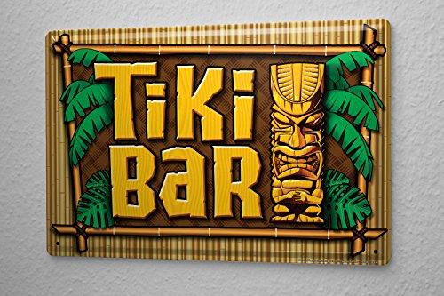 Cartel-De-Chapa-Nostlgico-Tiki-bar-20X30-cm