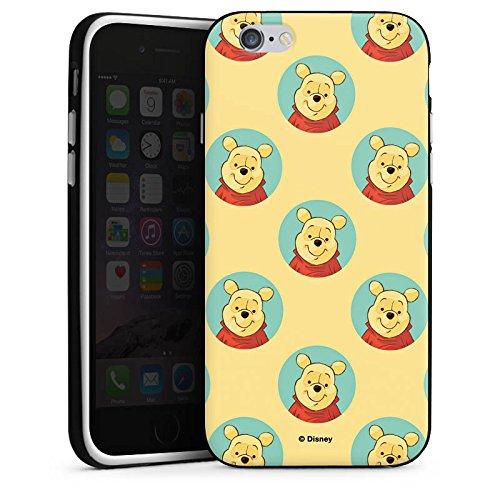 Apple iPhone X Silikon Hülle Case Schutzhülle Disney Winnie Puuh Fanartikel Zubehör Silikon Case schwarz / weiß