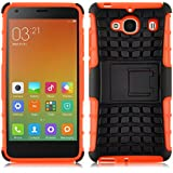 [ Xiaomi Redmi 2 / Hongmi 2 / Red Rice 2 ] - Carcasa Alligator JAMMYLIZARD Heavy Duty Case De Alta Resistencia, NARANJA