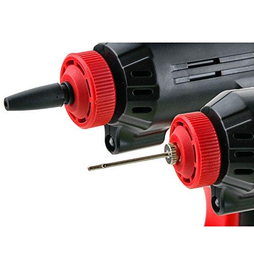 Genius A20001 Air Hawk Pro | 8 Teile Luftkompressor | Elektrische Druck-Luftpumpe | Inkl. Akku und Auto-Adapter | Neu - 5