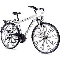 CHRISSON 28 pulgadas Lujo aluminio City Bike Bicicleta de trekking hombre bicicleta intouri Gent con