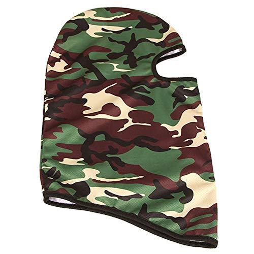 lymty Maske Außenreit Windschutz Skifahren Staubdicht CS Training Gesichtsschutz Tarnmaske Maske Kopfbedeckung Reitmaske -