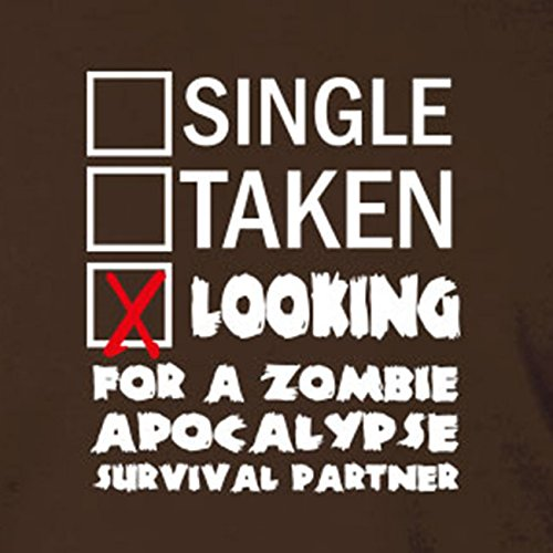 Looking for a Zombie Apocalypse Surival Partner - Herren T-Shirt Grün