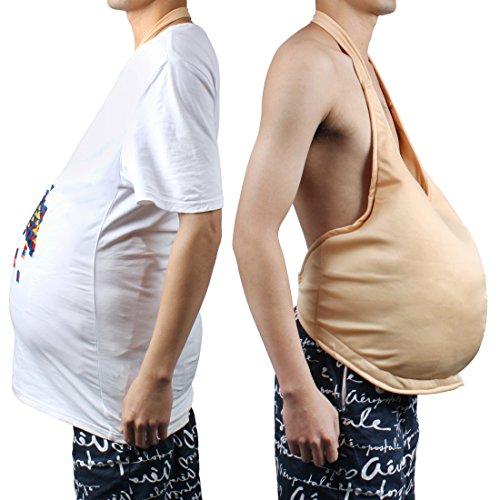 Andux Zone Unisex Bauch Stuffer COS Santa Fälschung Groß Bauch JDD-01 (Khaki) (Bump Schwangerschaft Kostüm)
