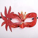 TianWlio Karnevals Maske Venezianische Maskerade Kostüm Festival Party Masken Karneval Party