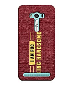 PrintVisa Designer Back Case Cover for Asus Zenfone 2 Laser ZE500KL (5 Inches) (Message quote proverbs inspiration motivation)